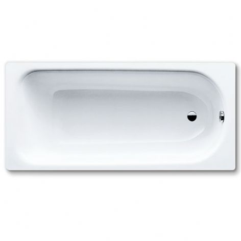 Contract single ended bath 1600 x 700mm with left hand TH 63.KB16PLT